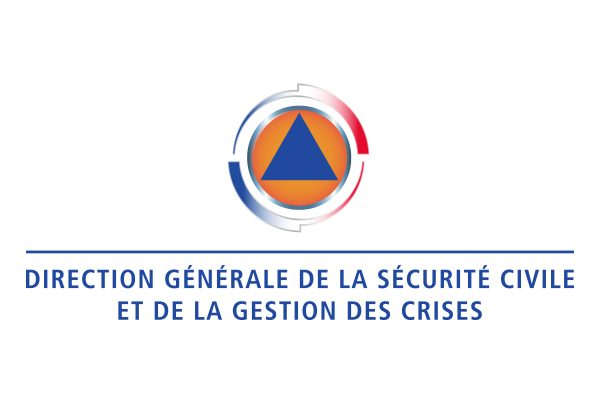 Logo Sécurité civile gestion crises. Portfolio de Bruno Lemaistre, graphiste freelance à Paris