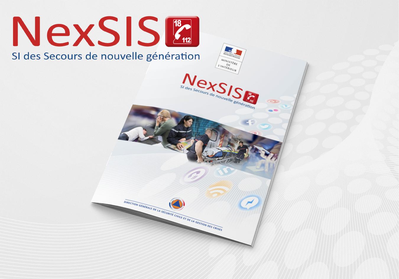Information NexSIS 18-112. Portfolio de Bruno Lemaistre, graphiste freelance à Paris